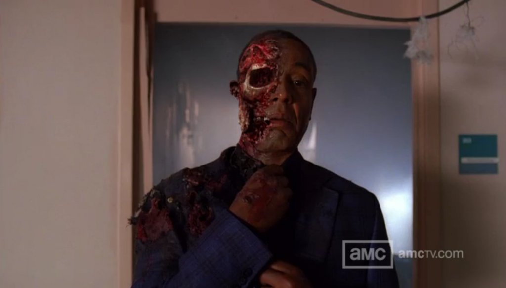 gus fring two face